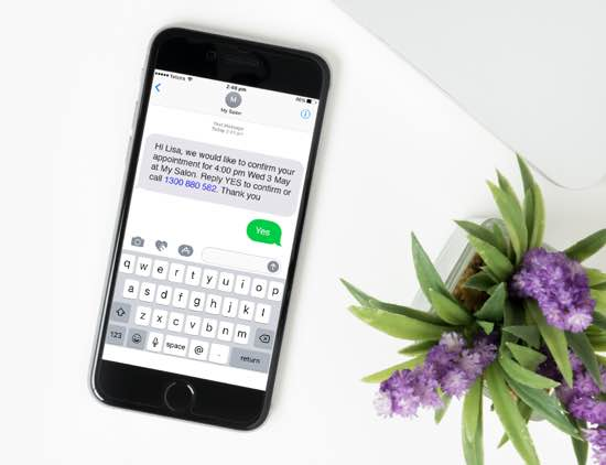 Phone SMS Bookings